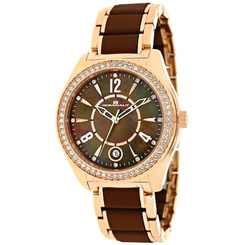 Oceanaut Women's Brown Mother of Pearl Dial Watch