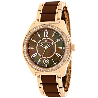 Oceanaut Women's Brown Mother of Pearl Dial Watch