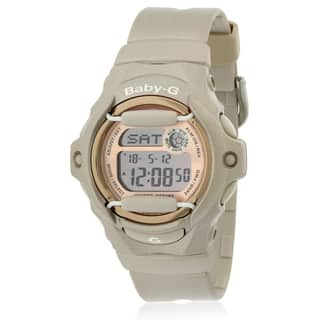 Casio Women's Baby-G BG169G-4 Pink Resin Quartz Watch with Digital Dial https://ak1.ostkcdn.com/images/products/9238206/P16404645.jpg?impolicy=medium