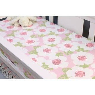 Nurture Imagination Baby Garden District Changing Pad Cover