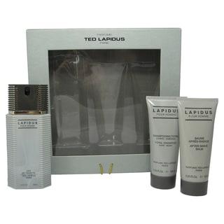 Ted Lapidus Men's 3-piece Fragrance Set