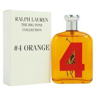 Ralph Lauren Big Pony #4 Men\u0026#39;s 4.2-ounce Eau de Toilette Spray (Tester)