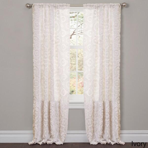 Lush Decor Stella 84-inch Curtain Panel - Free Shipping On Orders ...
