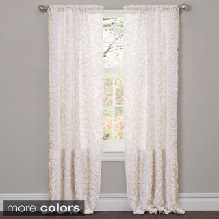 Lush Decor Stella 84-inch Curtain Panel