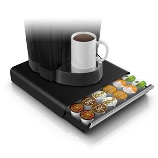 Mind Reader Black 36-capacity Coffee Pod Drawer