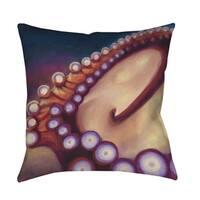 Octopus Indoor/ Outdoor Deocrative Throw Pillow