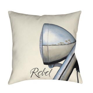 Rebel Indoor/ Outdoor Decorative Throw Pillow