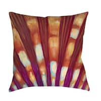 Shell Indoor/ Outdoor Decorative Throw Pillow