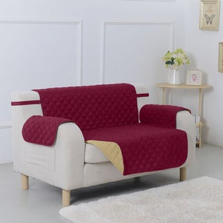 Shop Quilted Reversible Chair Protector Overstock 9636933