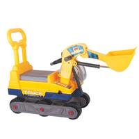 Merske Ride-on 6-wheel Bulldozer with Back