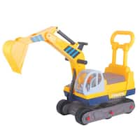 Merske Ride-on 6-wheel Excavator with Back