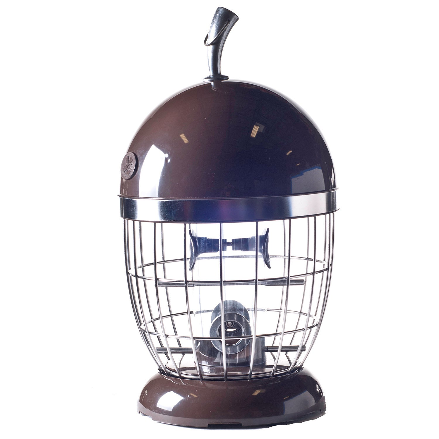 USA The Nuttery Acorn Seed Feeder, Silver stainless steel...
