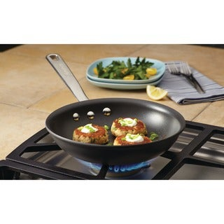 Anolon Authority Hard-anodized Nonstick 8 1/2-inch Grey French Skillet