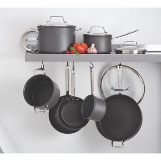 Anolon Authority Hard-anodized Nonstick 12-piece Grey Cookware Set
