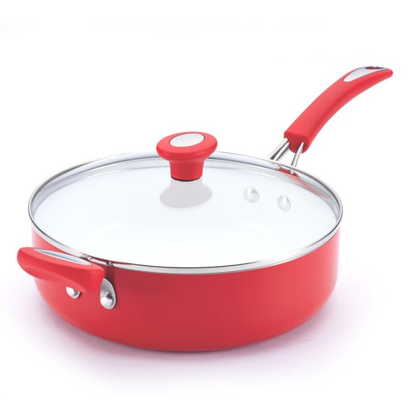 10 Ceramic Saute Pan With Lid