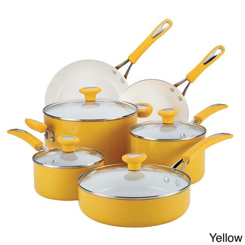 SilverStone Ceramic CXi Nonstick 12-piece Cookware Set
