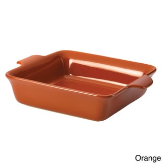 Anolon Vesta Stoneware 9-inch Square Baker (Option: Orange - 10 x 9)
