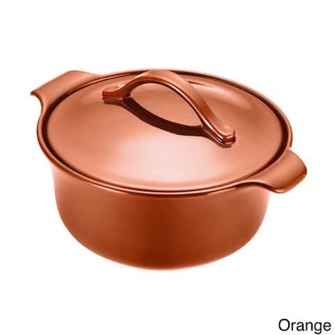 Anolon Vesta Stoneware 2.5-Quart Round Casserole Pot