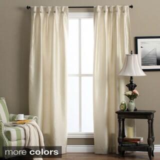 Artisan Box-pleated Back Tab Curtain Panel Pair