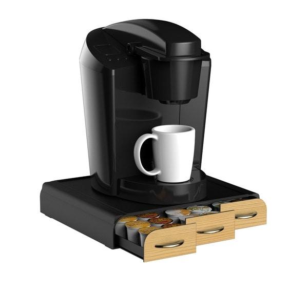 Mind Reader 36-capacity Wood Veneer Coffee Pod Drawer