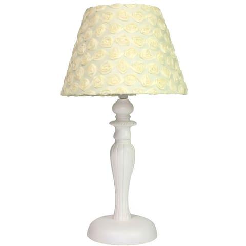 Nurture Imagination Yellow Roses Lamp Base and Shade