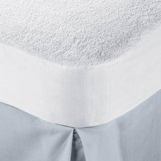 Superior Hypoallergenic 100-percent Waterproof Cotton Premium Mattress Protector - White