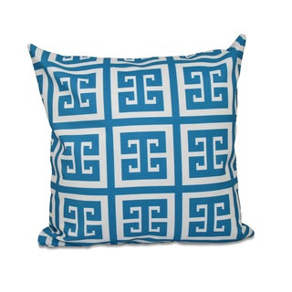 16 x 16-inch Large Greek Key Print Geometric Decorative Throw Pillow