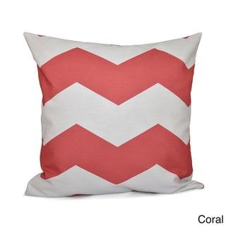 16 x 16-inch Chevron Print Geometric Decorative Throw Pillow