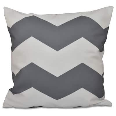 18 x 18-inch Large Chevron Print Decorative Throw Pillow