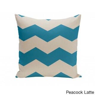 20 x 20-inch Chevron Print Decorative Throw Pillow
