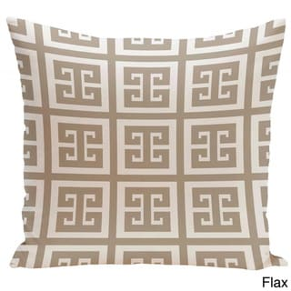 20 x 20-inch Large Greek Key Print Geometric Decorative Throw Pillow