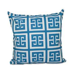 26 x 26-inch Large Greek Key Geometric Decorative Throw Pillow