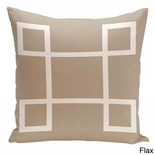 26 x 26-inch Large Geometric Print Decorative Throw Pillow