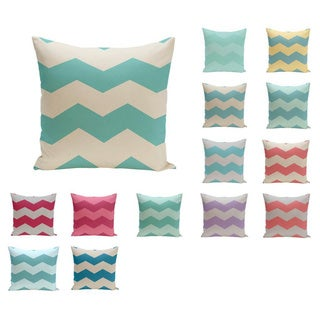 26 x 26-inch Large Chevron Print Decorative Throw Pillow