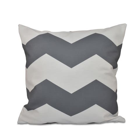 26 x 26-inch Large Chevron Stripe Print Decorative Throw Pillow