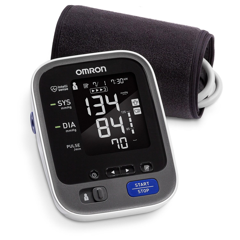 OMRON 10 Series Bluetooth Blood Pressure Unit, Grey metal