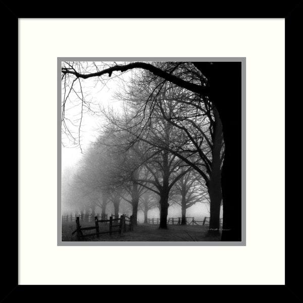 harold silverman black and white morning framed art print 13 x 13