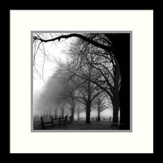 Harold Silverman 'Black and White Morning' Framed Art Print 13 x 13-inch