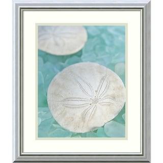 Alan Blaustein 'Seaglass 3' Framed Art Print 17 x 20-inch