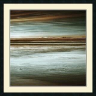 John Seba 'Lowtide' Framed Art Print 34 x 34-inch