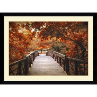 Jessica Jenney 'Footbridge' Framed Art Print 43 x 32-inch