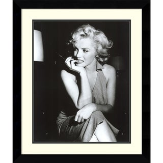 Framed Art Print 'Marilyn Monroe, Hollywood 1952' 30 x 36-inch