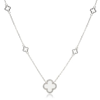 Journee Collection Cubic Zirconia Cross Pendant