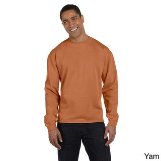 Men's Pigment-dyed Boxy Crew Sweatshirt