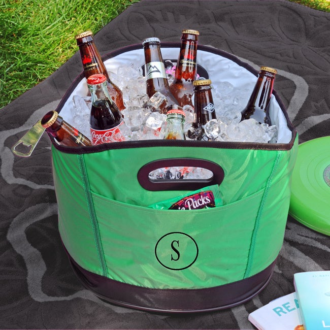 Cathy's Concepts Personalized Green Party Cooler (G) (Vinyl)