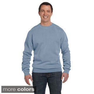 Men's Pigment-dyed Fleece Crew Sweater