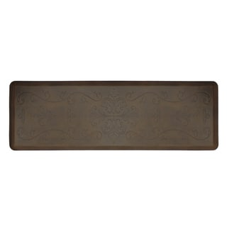 WellnessMats Anti-Fatigue Entwine Antique Dark Motif Mat