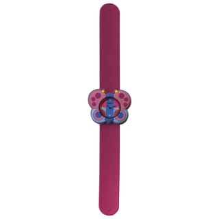 Dakota Fusion Kid's Butterfly Slap Bracelet Watch