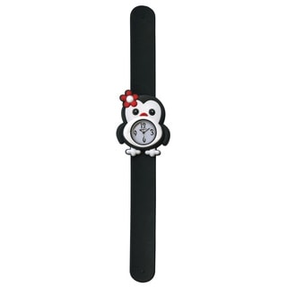 Dakota Fusion Children's Penguin Slap Bracelet Watch