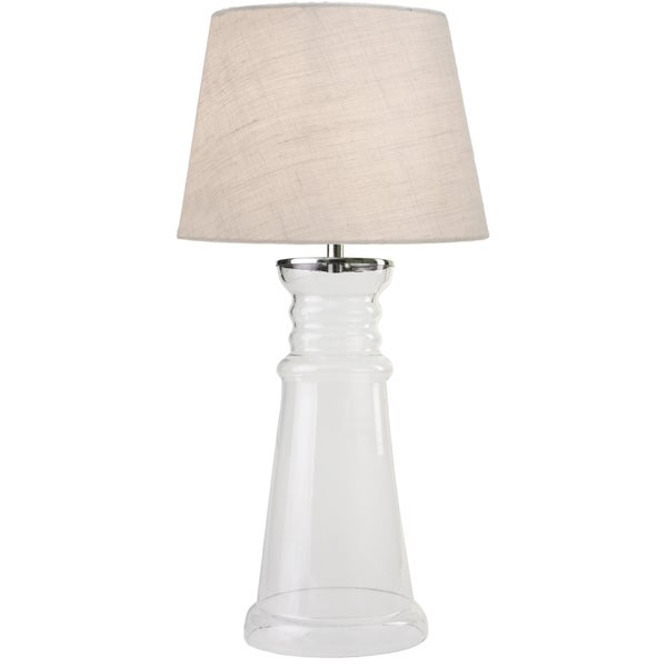 Epie 29-inch Table Lamp - Clear Glass